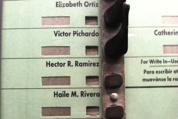Voters at more than one polling place in the 86th district found it a lot easier to vote for the Democratic organization's candidate, Victor Pichardo, than his challengers last Primary Day. Now the 2013 runner up wants federal oversight of next week's rematch.