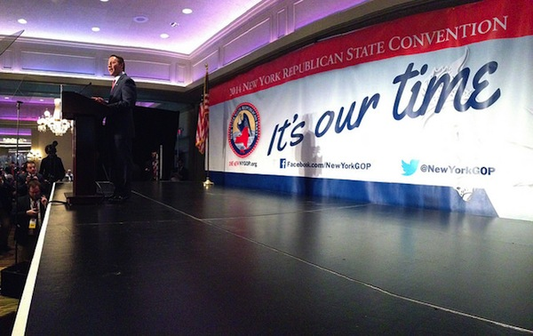 GOP nominee for governor Rob Astorino.