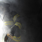 Firefighters' bunker gear protects them from intense heat. But it also very heavy, contributing to the physical exertion that elevates the heart attack risk associated with firefighting.