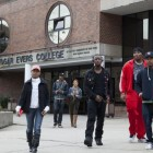 Medgar Evers College is trying to improve graduation and retention rates, but those efforts have divided the school's faculty. Opposition to some of the reforms has become intertwined with fears about a larger demographic change in the neighborhood.