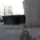 A final meal awaits rats in this bait station on Pacific Street not far from the Barclays Center.