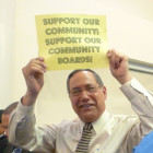 At a 2010 charter revision hearing, a Bronx community board member stood up for his role.