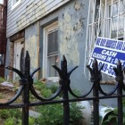 Residents on Gates Avenue between Evergreen and Central Avenues in Bushwick say this vacant house is a frequent location of crime. The 83rd Precinct is encouraging residents of the block and 33 others in Bushwick to form block associations in an effort to stop crime collaboratively.