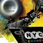 The PSAs and this promotional poster for NYC condoms are part of a broader campaign to bolster condom use.