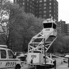 First seen on the U.S-Mexican border, the NYPD now deploys Sky Watch towers as part of its crime-fighting efforts.