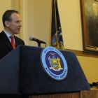 State Attorney General Eric Schneiderman. The AG's office currently has a role in approving coop conversions, but some want to give it expanded authority to police how coops are run.