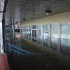 Flooding caused by Hurricane Sandy on Emmons Avenue.