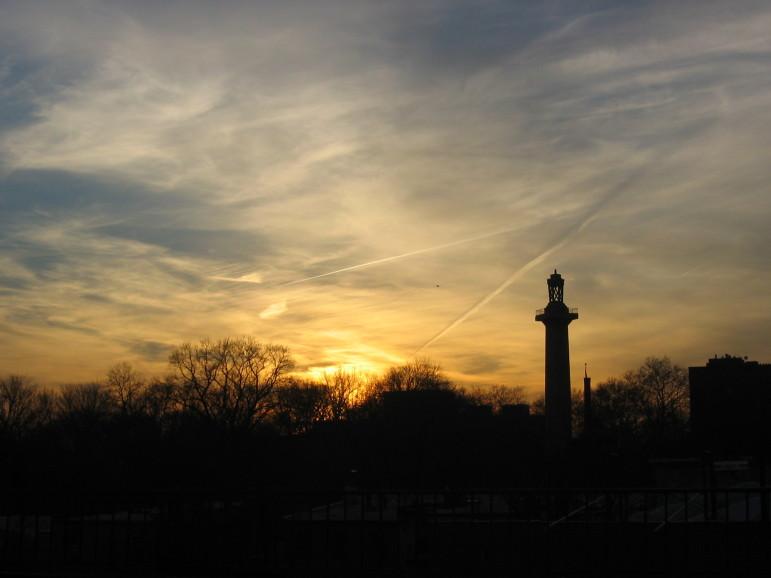 """""""Fort Greene park sunset"""""""
