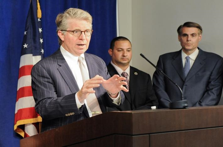 Manhattan DA Cyrus Vance. The grand jury probe recommended the state stiffen criminal penalties for MWBE fraud.