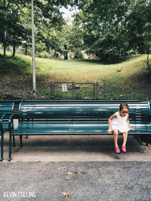 As She Investigates the Park