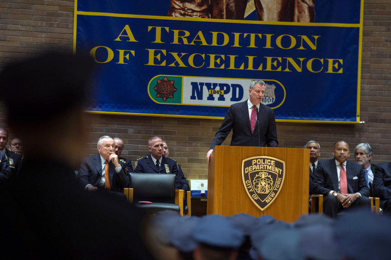 Mayor Bill de Blasio Delivers Remarks at NYPD Promotions Ceremony. Friday, December 19, 2014