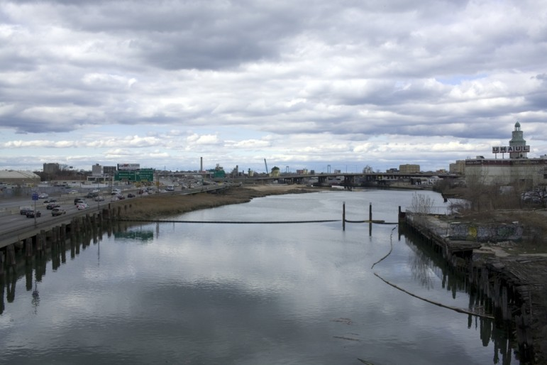 The Flushing River is one of several waterways in the city polluted by combined sewage overflows.