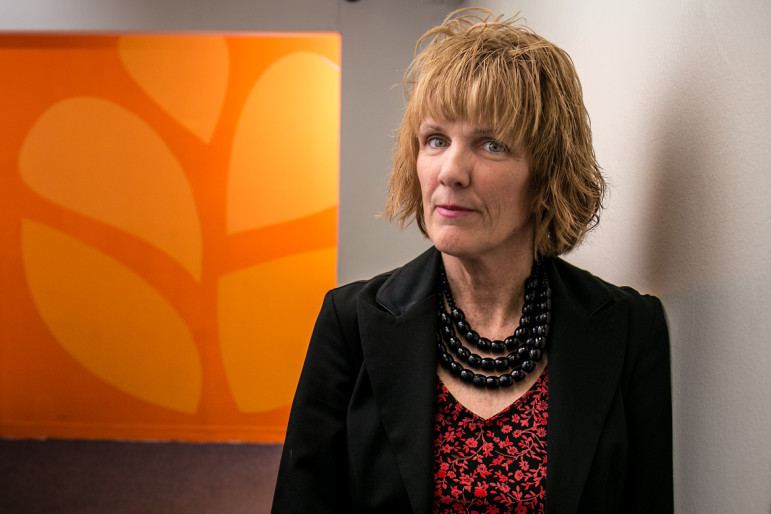 Maureen Curtis at Safe Horizon is enthusiastic about the opportunity to work hand-in-hand with law-enforcement officers who can help to ensure the safety of her clients through 'offender containment.'
