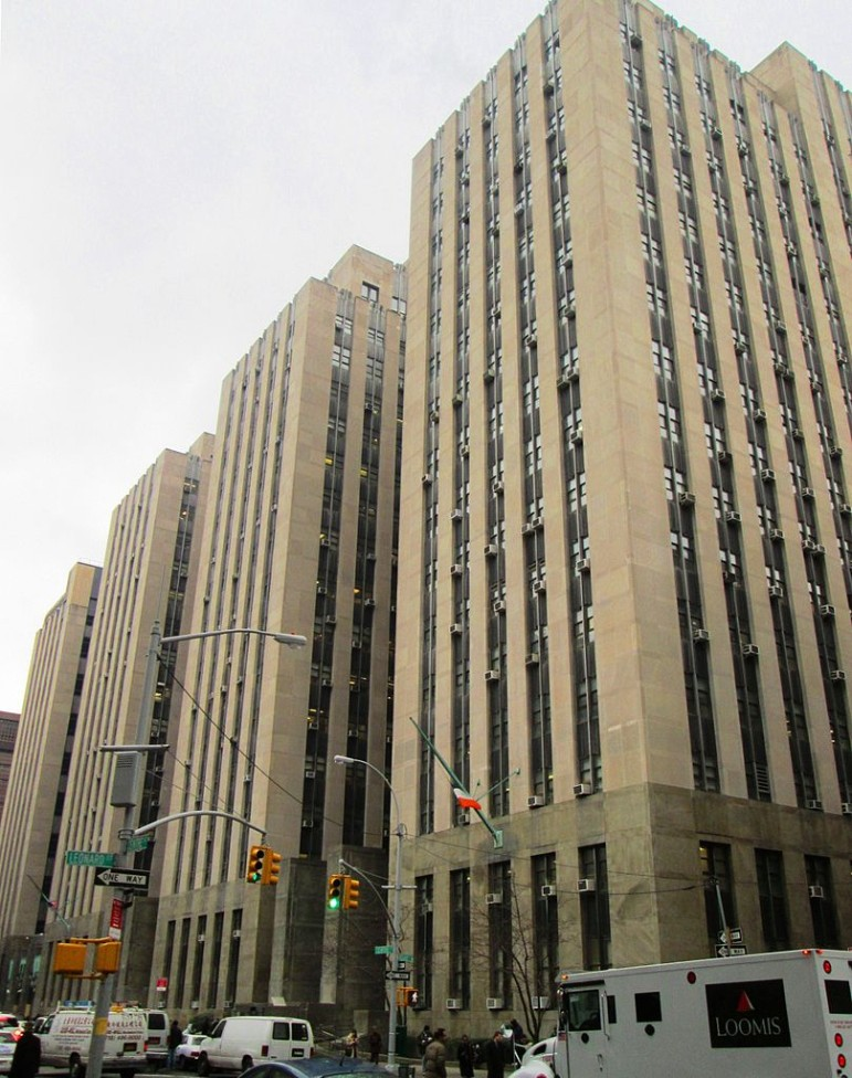 The New York Criminal Courts building at 100 Centre Street, where many defendants plead guilty to crimes and violations not realizing that the punishment may go way beyond any incarceration time or fine.