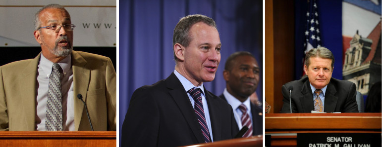 Assemblyman Jeffrion Aubry wrote a bill seven years ago to address leading causes of rap-sheet errors. Eric Schneiderman, an ex-senator who was prime sponsor of reform legislation, now commands a powerful position in law enforcement as state Attorney General. And State Sen. Patrick Gallivan is the rare Republican who is open to measures to address the rap-sheet problem.