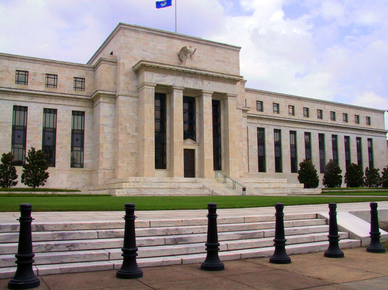 The Federal Reserve, which could soon begin to raise interest rates despite sings that the job market remains fragile.