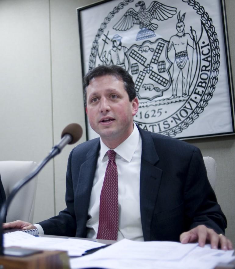 Councilman Brad Lander, the primary sponsor of the bill.