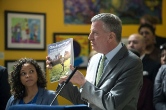 De Blasio presents his OneNYC vision, the first attempt by the city to address its waste problem since the Bloomberg administration's SWMP in 2006.