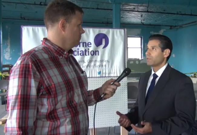 City Limits' Marc Bussanich interviews John Valverde, associate executive director of the Osborne Association.