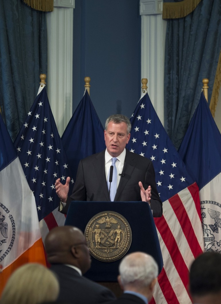 Mayor de Blasio last year called for a rent freeze and didn't get it. This year he stayed mum and did.