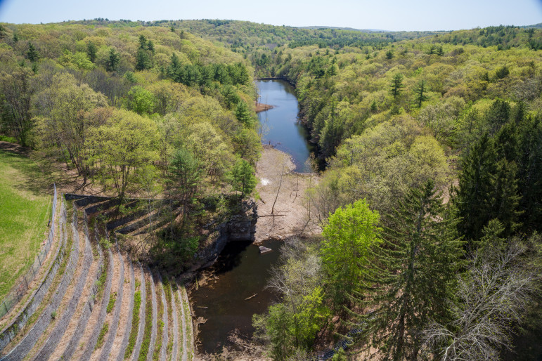 The city's Land Acquisition Program has strict guidelines on what it can and can't purchase. Parcels smaller than 10 acres are verboten. But in the post-Irene program, that's not the case.