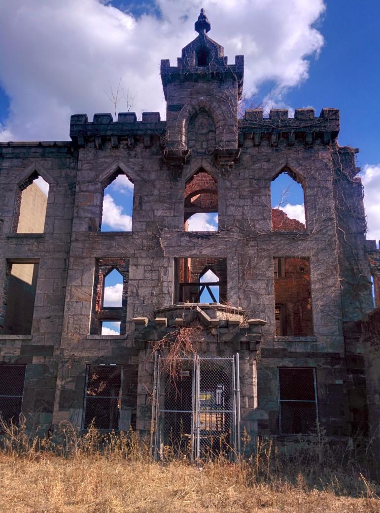 Former smallpox hospital on Roosevelt Island.