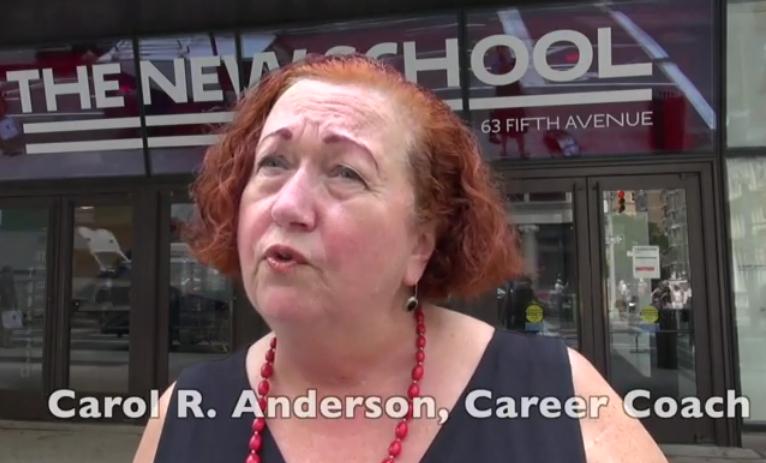Carol Anderson offers no-nonsense advice.