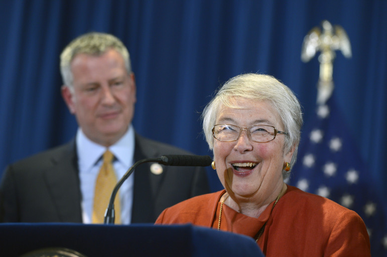 Davids earlier this year told the Daily News that schools Chancellor Carmen Farina deserved an F on her performance to date.