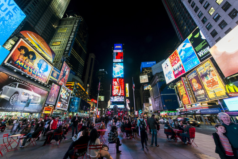 Pedestrian plazas offer New Yorkers a chance to soak in all the energy and diversity of city life. Unless it gets, you know, too energetic or diverse.
