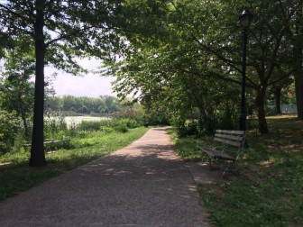 Crotona Park is valued by area residents for its tranquility.