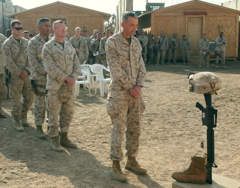 Colleagues remember Cpl. Aaron M. Allen, 24, who was killed while conducting combat operations in Fallujah in 2008.