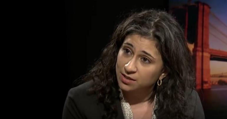 Immigration lawyer Talia Peleg of Brooklyn Defender Services.