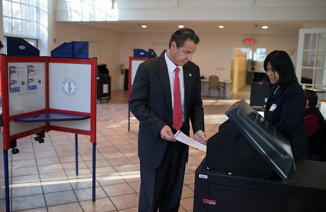 The gov votes (not in Iowa).