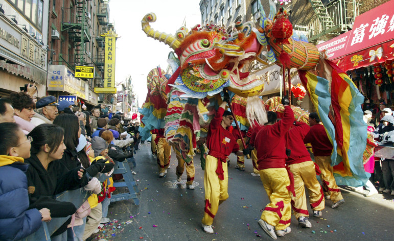 This year, the Lunar New Year was listed as a school holiday in the city for the first time. One of the powerful arguments elected officials in the Asian neighborhoods made was that in neighborhoods like Chinatown, the classrooms were already largely empty on the holiday anyway.