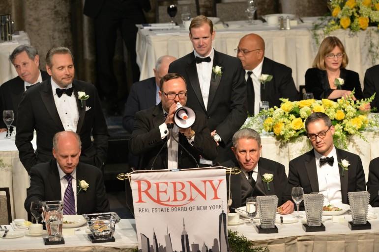 The REBNY gala