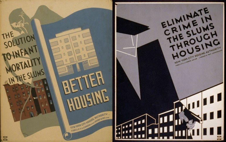 Public housing came closer to the hopes of the 1930s in New York City than elsewhere, but problems of physical isolation and  complex questions about which income groups belong there continue to shape NYCHA.