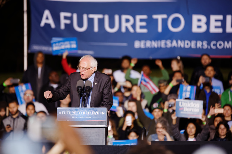 Sen. Sanders' results at the polls in Tuesday's primary seemed to fall short of what his huge crowds predicted. Was that because of a voter-list purge, or because NY's laws are poorly suited to accept latecomers into the process?
