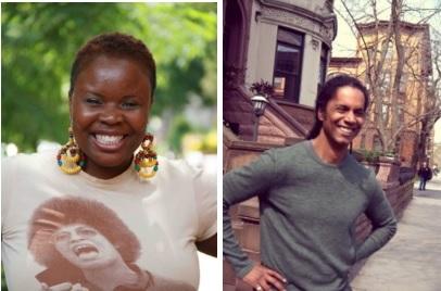 Brooklyn Deep managing editor Veralyn Williams (left) and Executive Editor Mark Winston-Griffith