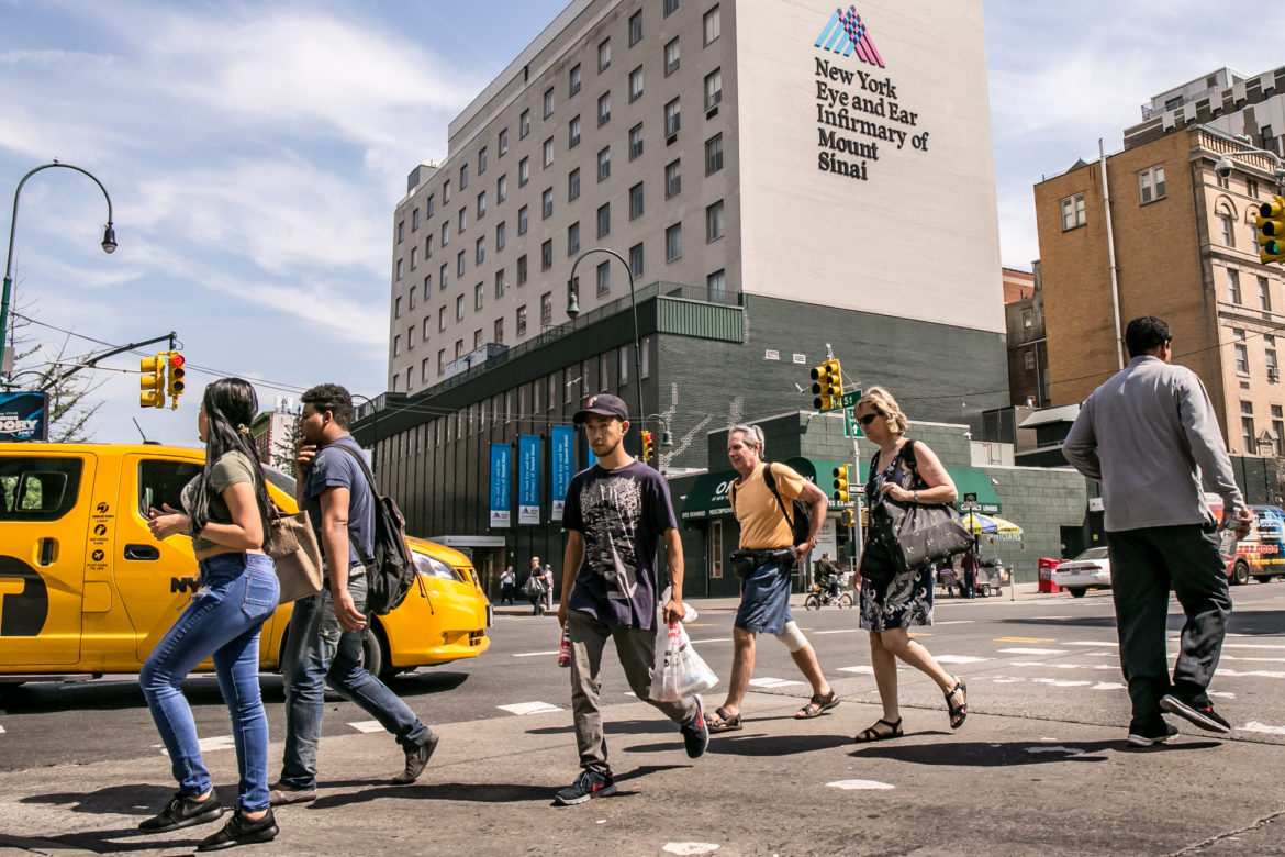 These days the Mount Sinai Health System (MSHS) name and logo are omnipresent in Manhattan with a few outposts in parts of Brooklyn and Queens.