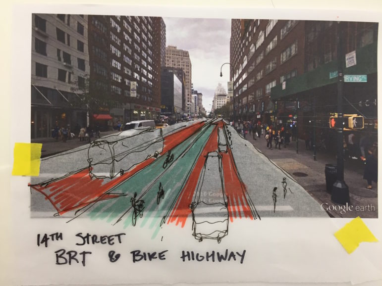 Some concepts for navigating the shutdown involve making the 14th Street corridor carry more (and maybe exclusively) mass transit.