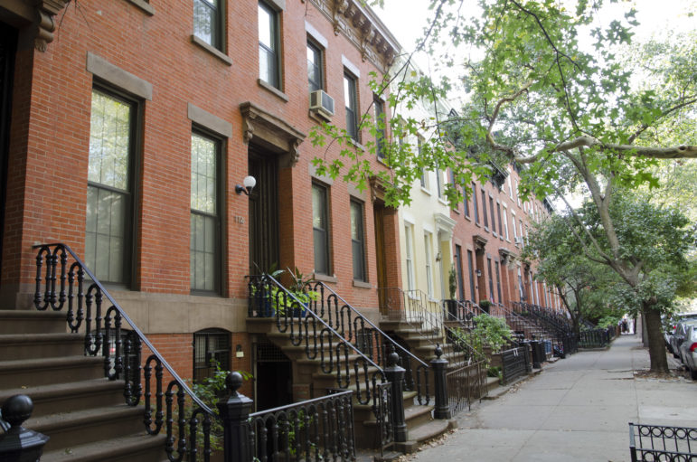 Inside the Boerum Hill historic district.