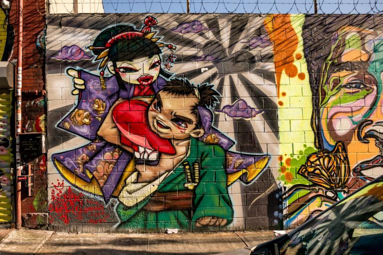 Welling Court Street Art 18
