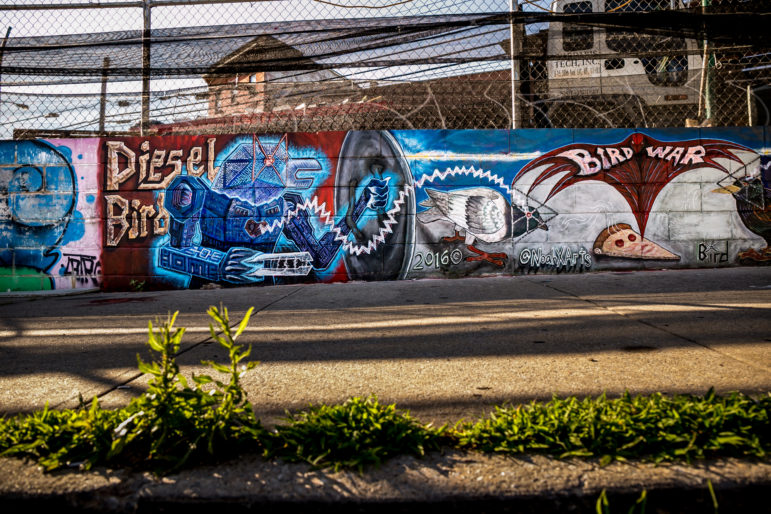 Welling Court Street Art 13