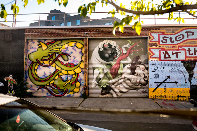 Welling Court Street Art 10