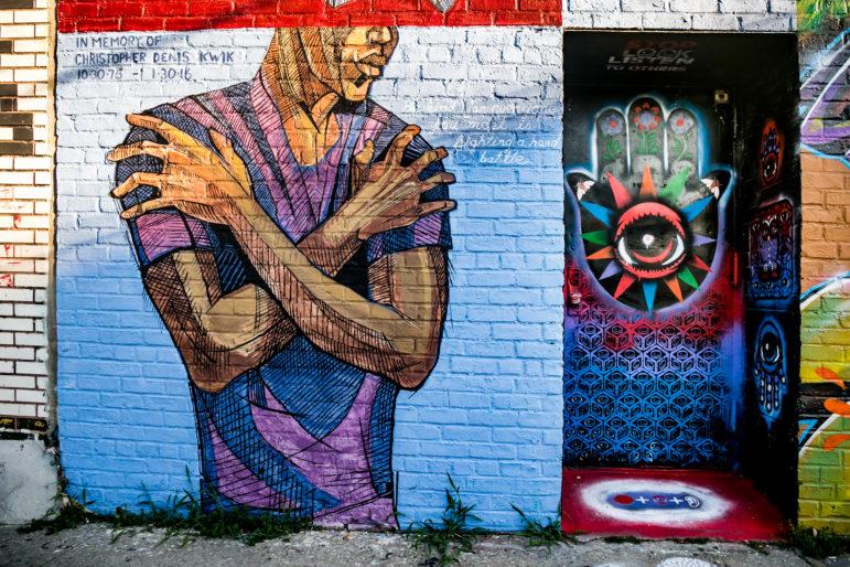 Welling Court Street Art 7