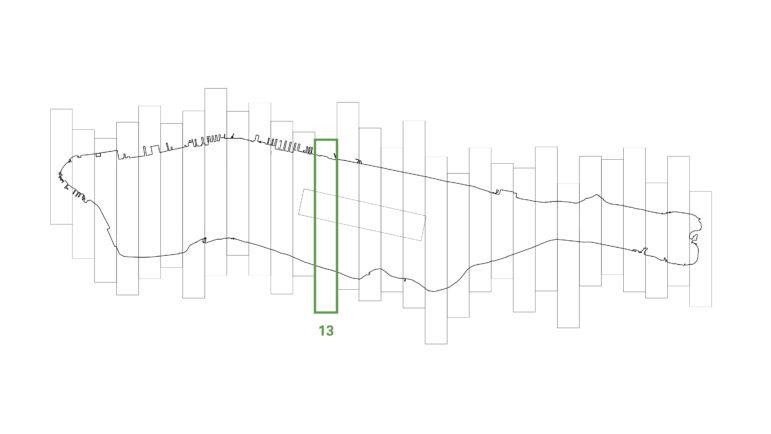 The swath of Manhattan studied by SITU.