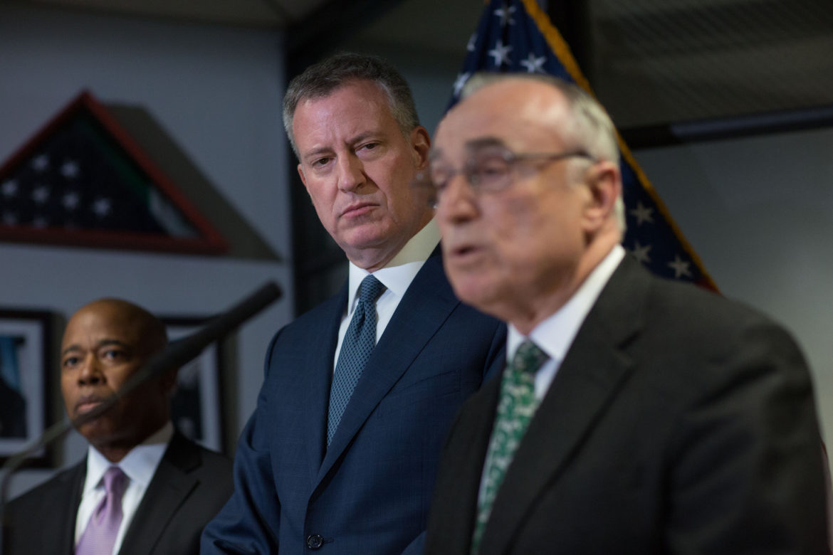 Bratton's stature was both an asset and a liability for the mayor.
