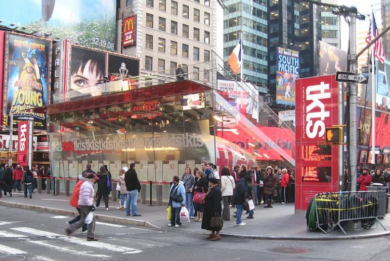 It's true that all New Yorkers can take advantage of any TKTS booth by the very fact of their mobility, but this philosophy—the idea that patrons should travel to a centralized, civic arts space for their cultural uplift—has proven over the past decades to rely on faulty logic.