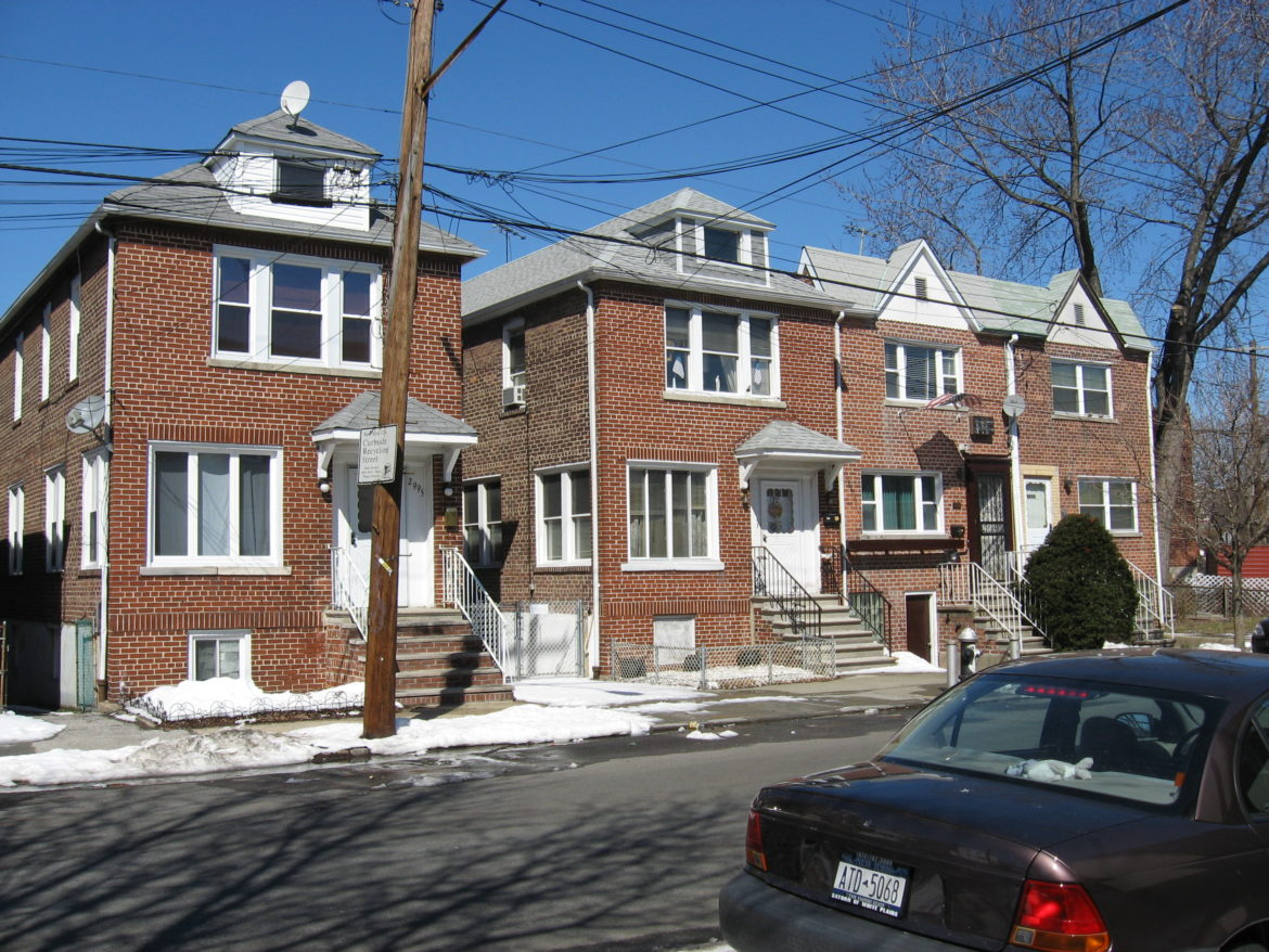 Zulette Avenue in the Bronx. According to a recent report, only 18 percent of Bronx households own their own homes, the second-lowest homeownership rate of all counties in the U.S.