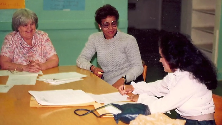 Early Bronx neighborhood advocates, including Anne Devenney (left) bridged racial divides with a pragmatic approach necessitated by the scope of the crisis their communities faced.
